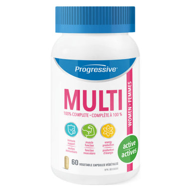Bottle of Multi for Active Women 60 Vegetable Capsules
