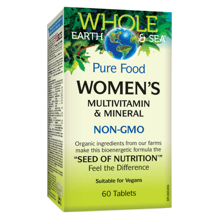 Box of Womens Multivitamin & Mineral 60 Tablets