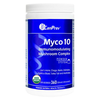 Container of Myco 10 Powder 360 Grams