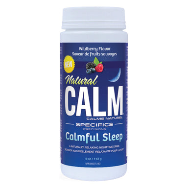 Bottle of Natural Calm Specifics – Calmful Sleep Natural Sleep Aid 4 Ounces