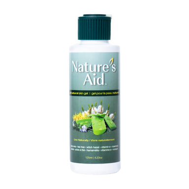 Bottle of Nature's Aid Natural, Multi-Purpose Skin Gel 125 Milliliters