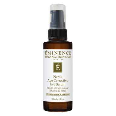 Pump Bottle of Eminence Neroli Age Corrective Eye Serum 30 Milliliters