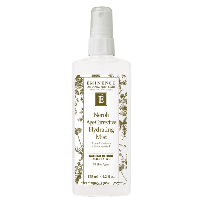 Spray Bottle of Eminence Neroli Age Corrective Hydrating Mist 125 Milliliters