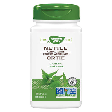 Bottle of Nature's Way Nettle Herb 100 Capsules