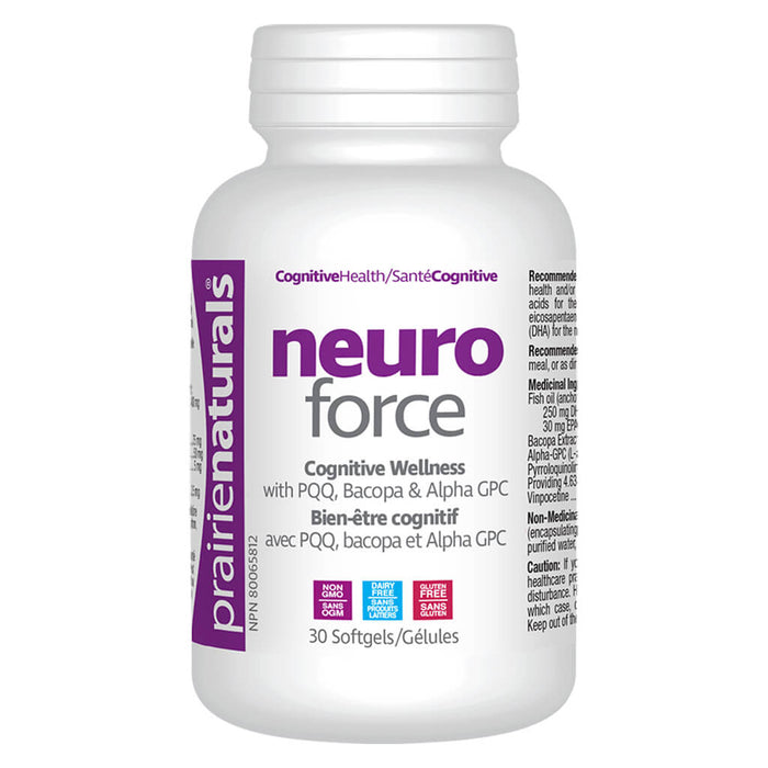 Bottle of Neuro Force 30 Softgels