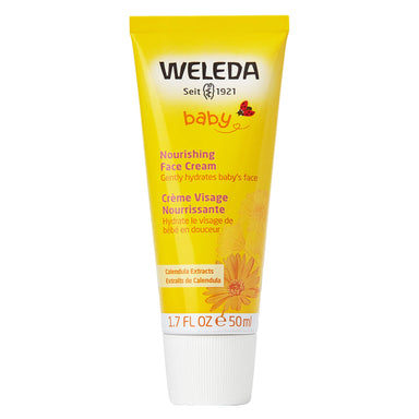 Bottle of Weleda Nourishing Face Cream - Calendula 1.7 Ounces