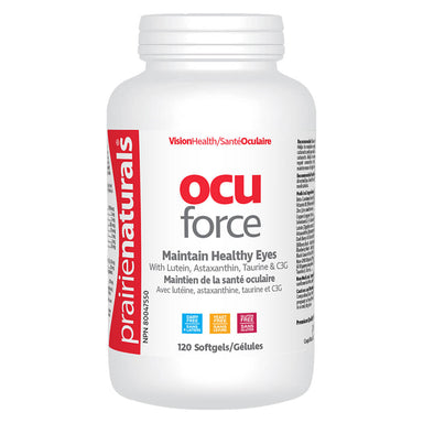 Bottle of Ocu Force 120 Softgels
