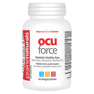 Bottle of Ocu Force 60 Softgels