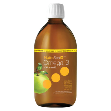 NutraSea +D Omega-3 Liquid Crisp Apple 500 Milliliters