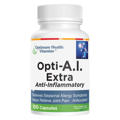 Optimum Health Vitamins - Opti-A.I. Extra 100 Capsules | Optimum Health Vitamins, Canada
