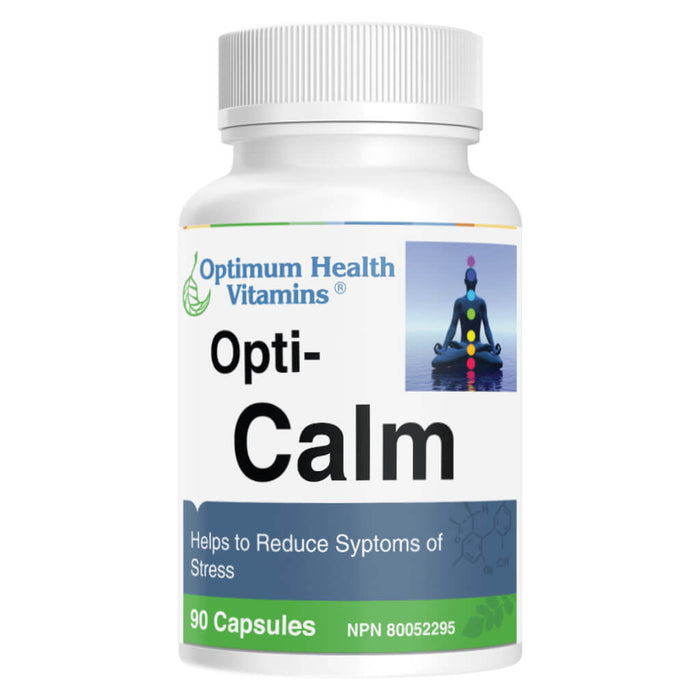 Bottle of Opti-Calm 90 Capsules