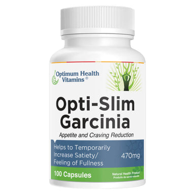 Bottle of Opti-Slim Garcinia 100 Capsules