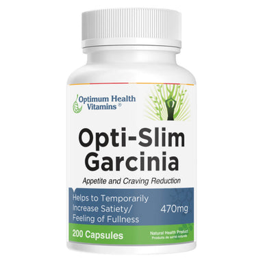 Bottle of Opti-Slim Garcinia 200 Capsules