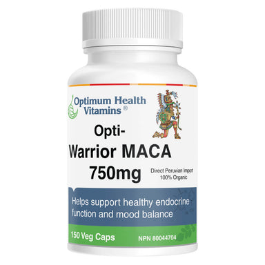 Opti-Warrior Maca 750 mg 150 Vegetable Capsules
