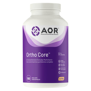 Bottle of Ortho-Core™ 950 mg 180 Capsules