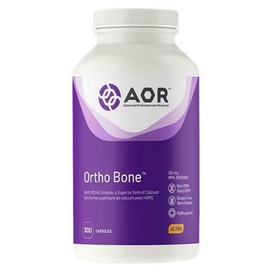 Bottle of AOR Ortho-Bone 300 Capsules