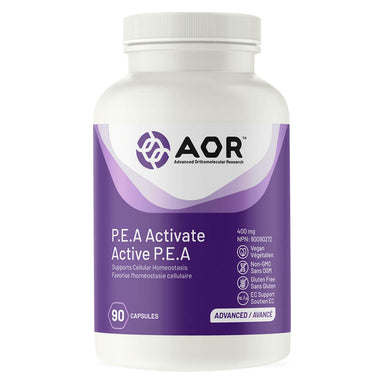 Bottle of P.E.A Activate 400 mg 90 Capsules