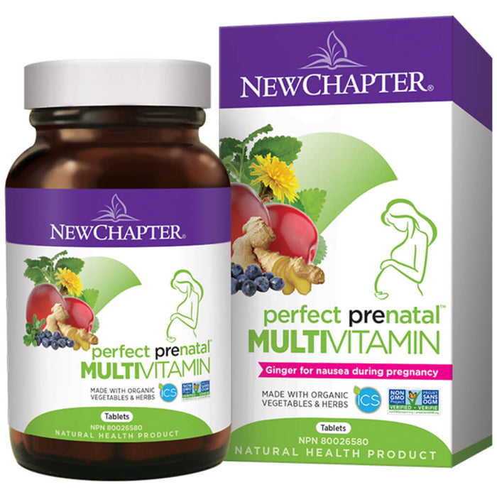 Container of Perfect Prenatal Multivitamin