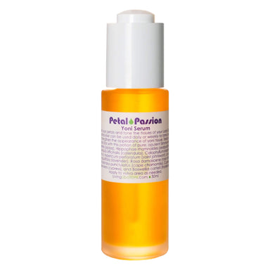 Roller Bottle of Living Libations Petal Passion Yoni Serum 30 Milliliters