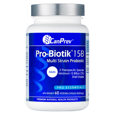 Bottle of Pro-Biotik 15B 60 Capsules