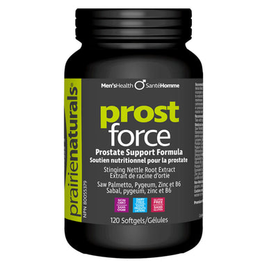 Bottle of Prost Force 120 Softgels