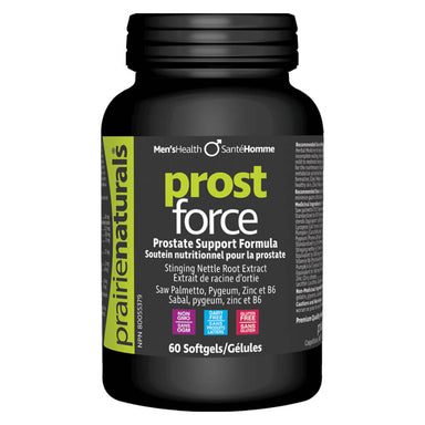 Bottle of Prost Force 60 Softgels