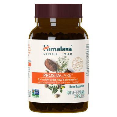 Bottle of ProstaCare 120 Vegetable Capsules