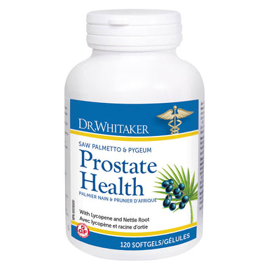 Bottle of Dr. Whitaker Prostate Health 120 Softgels