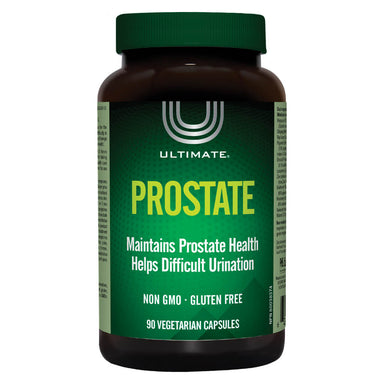 Bottle of Ultimate Prostate 90 Vegetarian Capsules