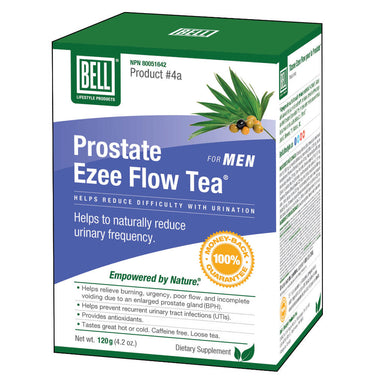 Box of Bell Prostate Ezee Flow Tea 120 Grams