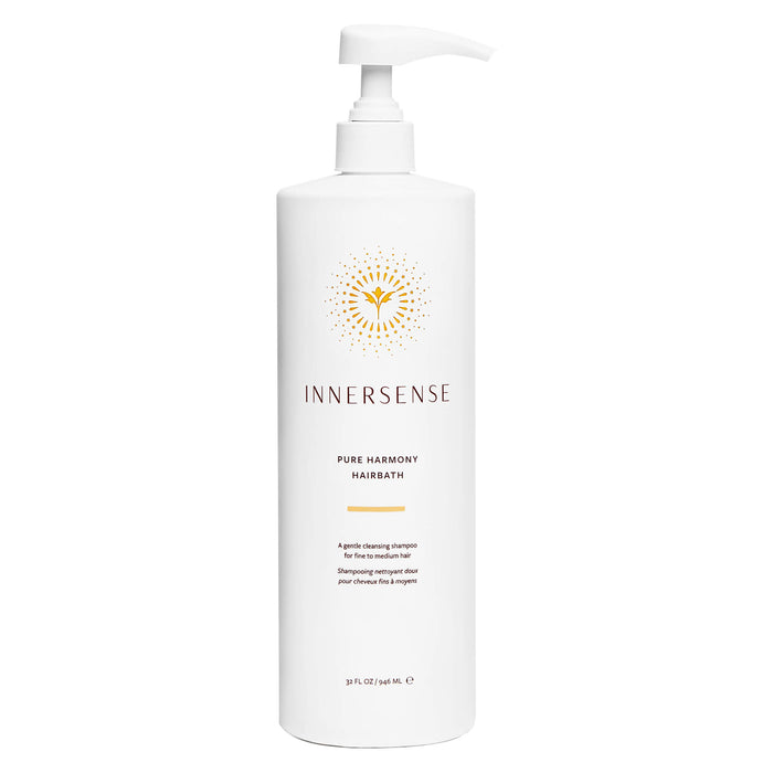 Pump Bottle of Innersense Pure Harmony Hairbath 32 Ounces 946 Milliliters | Optimum Health Vitamins, Canada