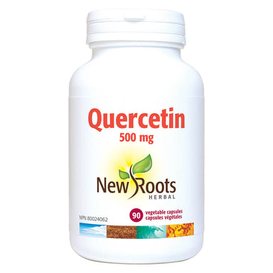 Bottle of Quercetin 500 mg 90 Vegetable Capsules