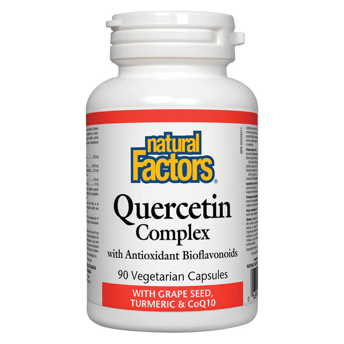 Bottle of Quercetin Complex 90 Vegetarian Capsules