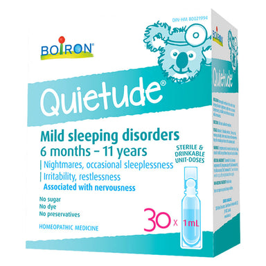 Box of Boiron Quietude® 30 x 1 Milliliter