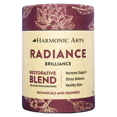 Container of Harmonic Arts Radiance Restorative Blend 100 Grams