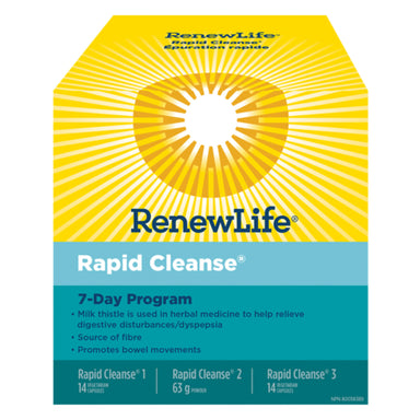 Box of Renew Life Rapid Cleanse 7-Day Program