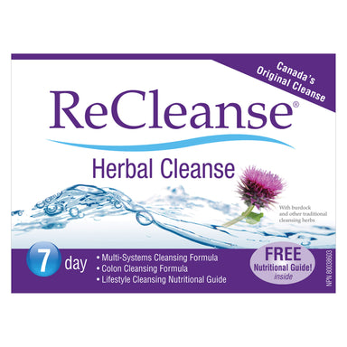 Prairie Naturals ReCleanse 7 Day Herbal Cleanse Kit | Optimum Health Vitamins, Canada