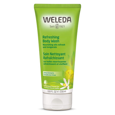 Bottle of Weleda Refreshing Body Wash - Citrus 6.8 Ounces