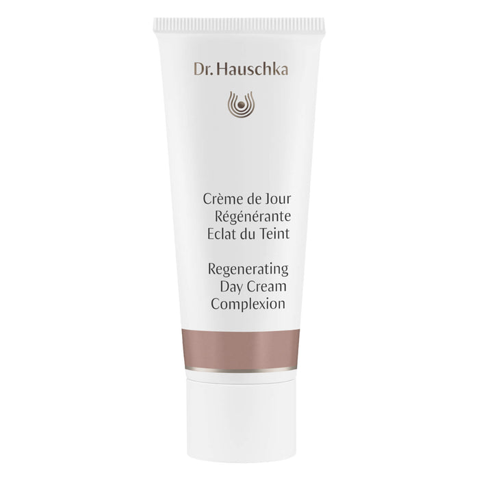 Bottle of Dr. Hauschka Regenerating Day Cream Complexion 40 Milliliters