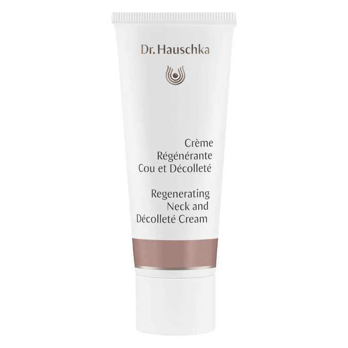 Bottle of Dr. Hauschka Regenerating Neck And Decollete Cream 40 Milliliters