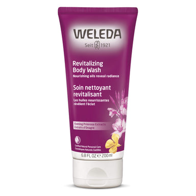 Bottle of Weleda Revitalizing Body Wash - Evening Primrose 6.8 Ounces