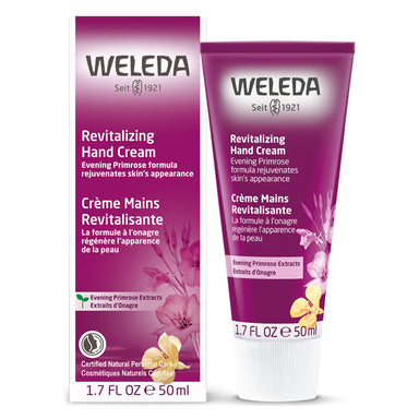 Bottle of Weleda Revitalizing Hand Cream - Evening Primrose 1.7 Ounces