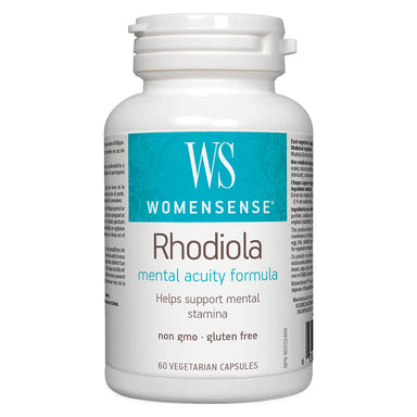 Bottle of Rhodiola 500 mg 60 Vegetarian Capsules