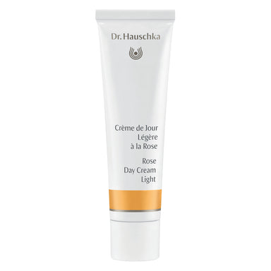 Bottle of Dr. Hauschka Rose Day Cream Light 30 Milliliters