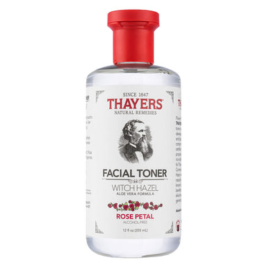 Bottle of Thayers Rose Petal Facial Toner 12 Ounces