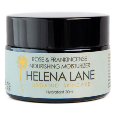 Jar of Helena Lane Rose & Frankincense Nourishing Moisturizer 30 Milliliters