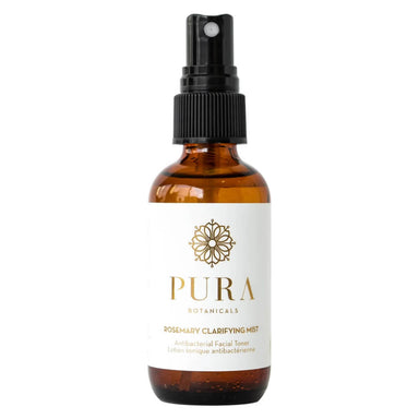 Spray Bottle of Pure Botanicals Rosemary Clarifying Mist Antibacterial Facial Toner 2 Ounces