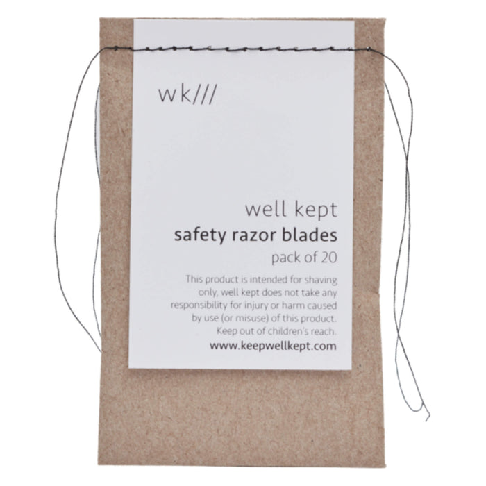 Well Kept Safety Razor Blades