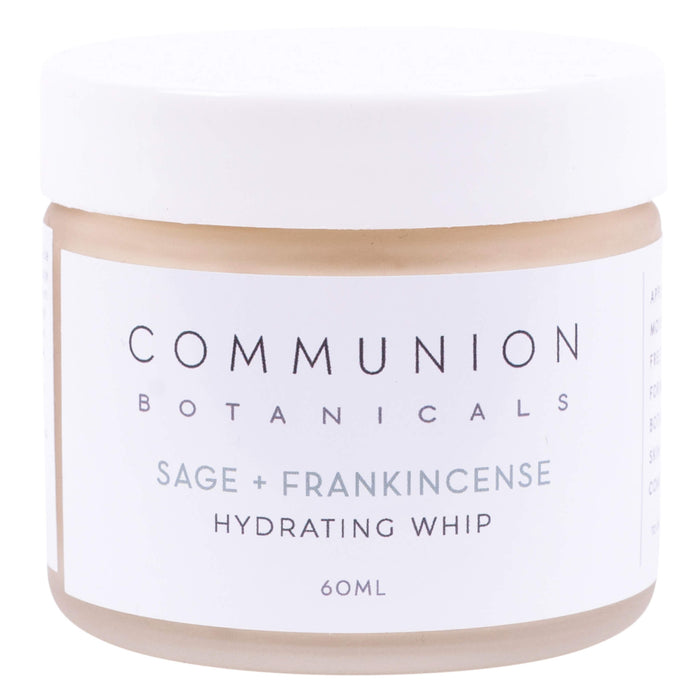 Jar of Communion Botanicals Sage + Frankincense Hydrating Whip 60 Milliliters