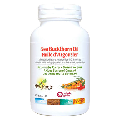 Bottle of Seabuckthorn Oil 30 Softgels